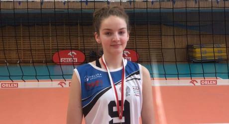 Martyna Lach wraca ze złotym medalem