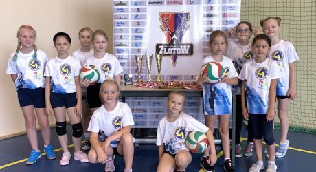 Turniej Mini Siatkówki w Złotowie